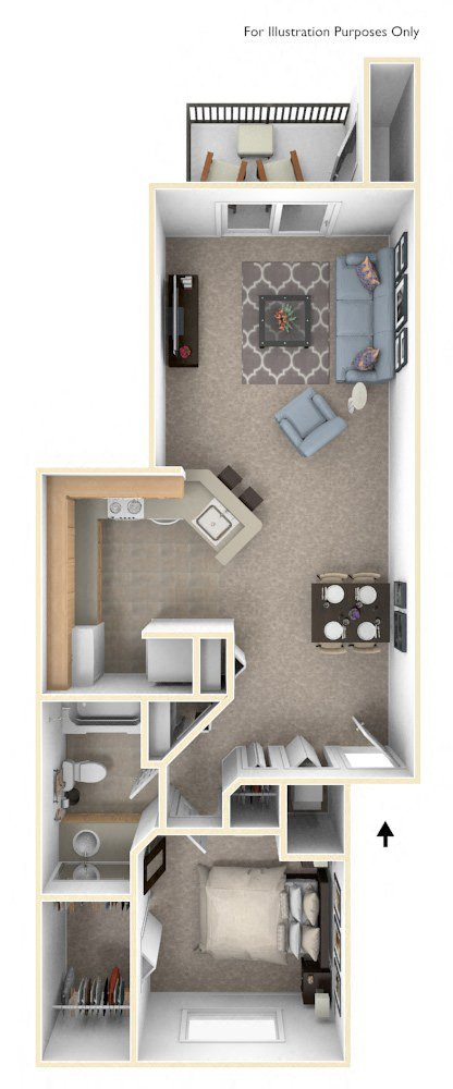 Classic One Bedroom