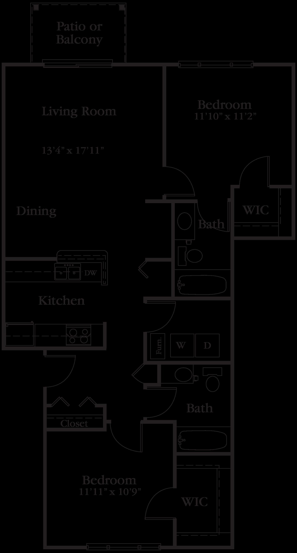 Badger Canyon Apartments in Kennewick WA Edward Rose