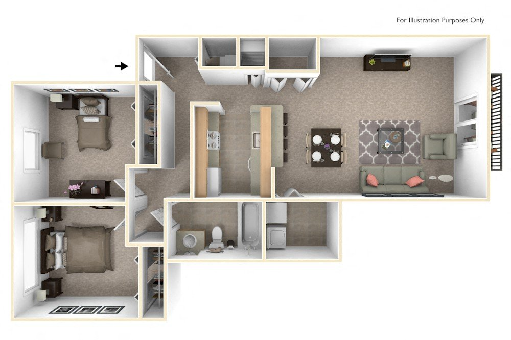 2-Bed/1-Bath, Lily