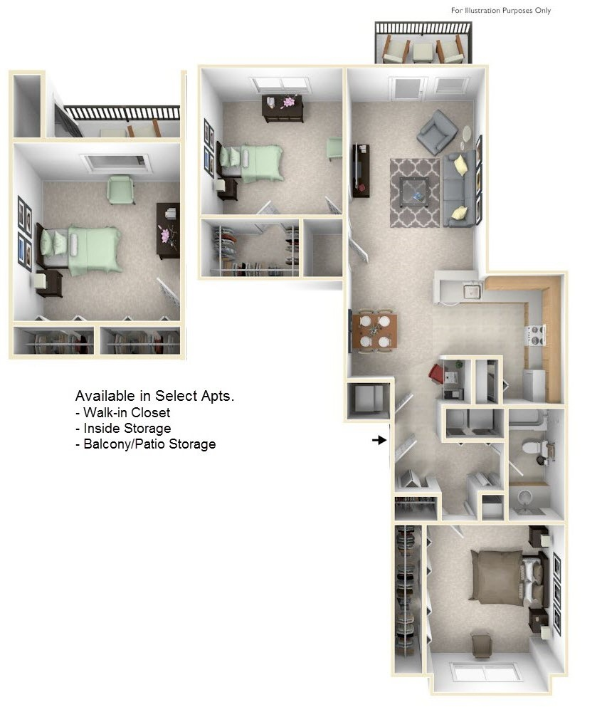 Towne Lakes Apartments In Grand Chute, WI