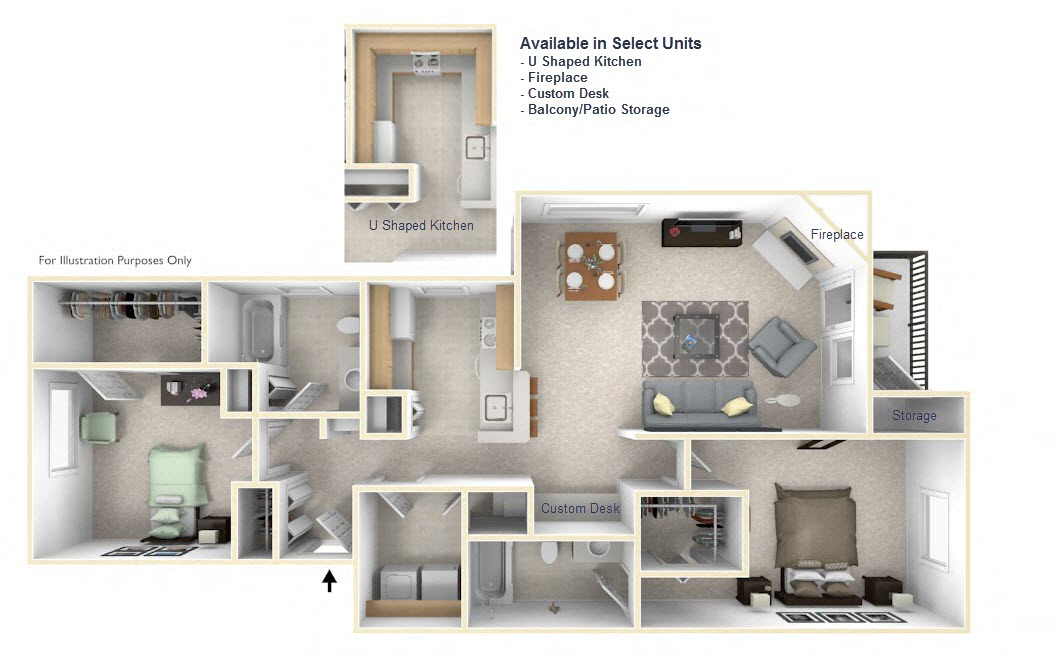 2-Bed/2-Bath, Erin
