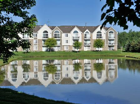 Exterior with Pond View