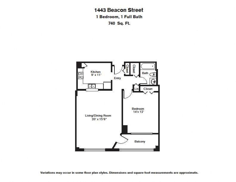 Floor plan 1 BR image 11