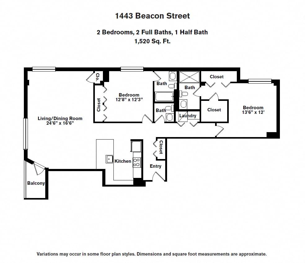 Floor plan 2 BR image 14