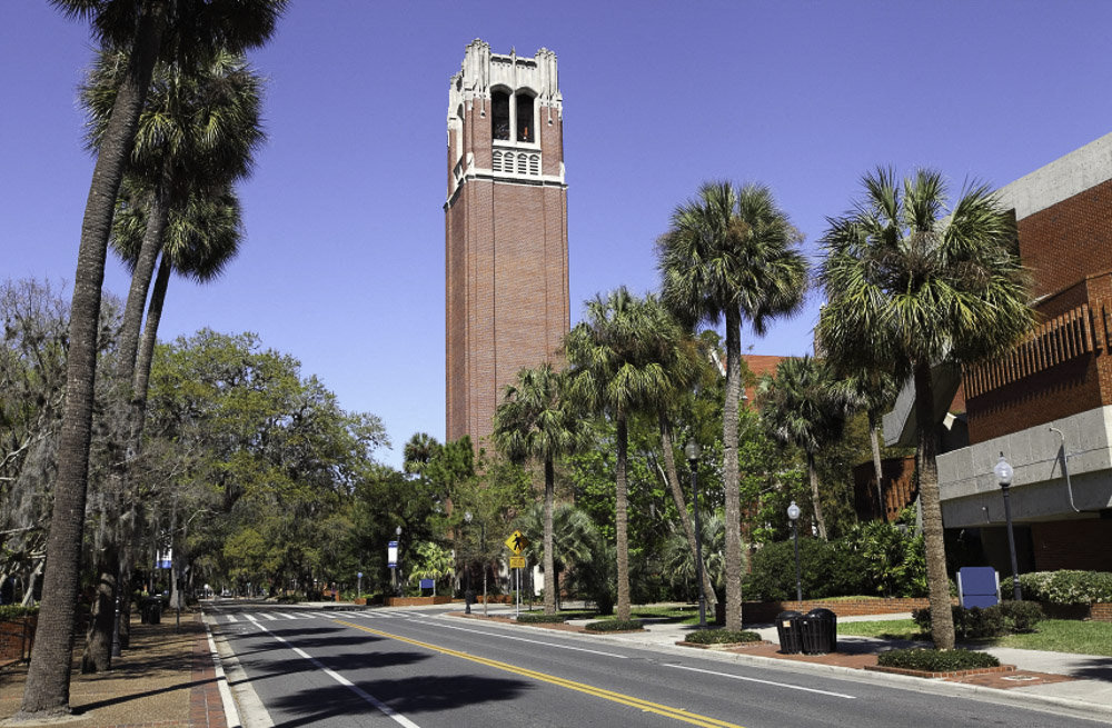 Walking/Biking Distance to UF Health, University of Florida  & VA Hospital