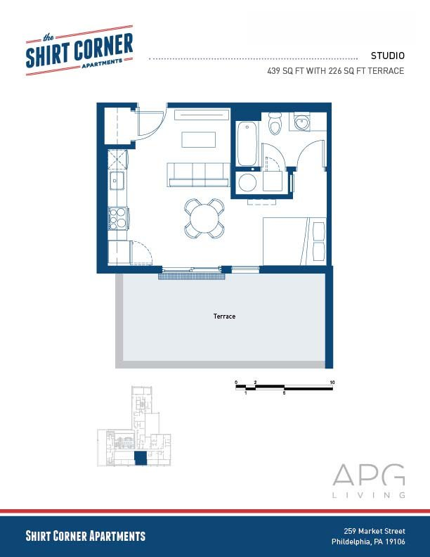 The Shirt Corner Floor Plans