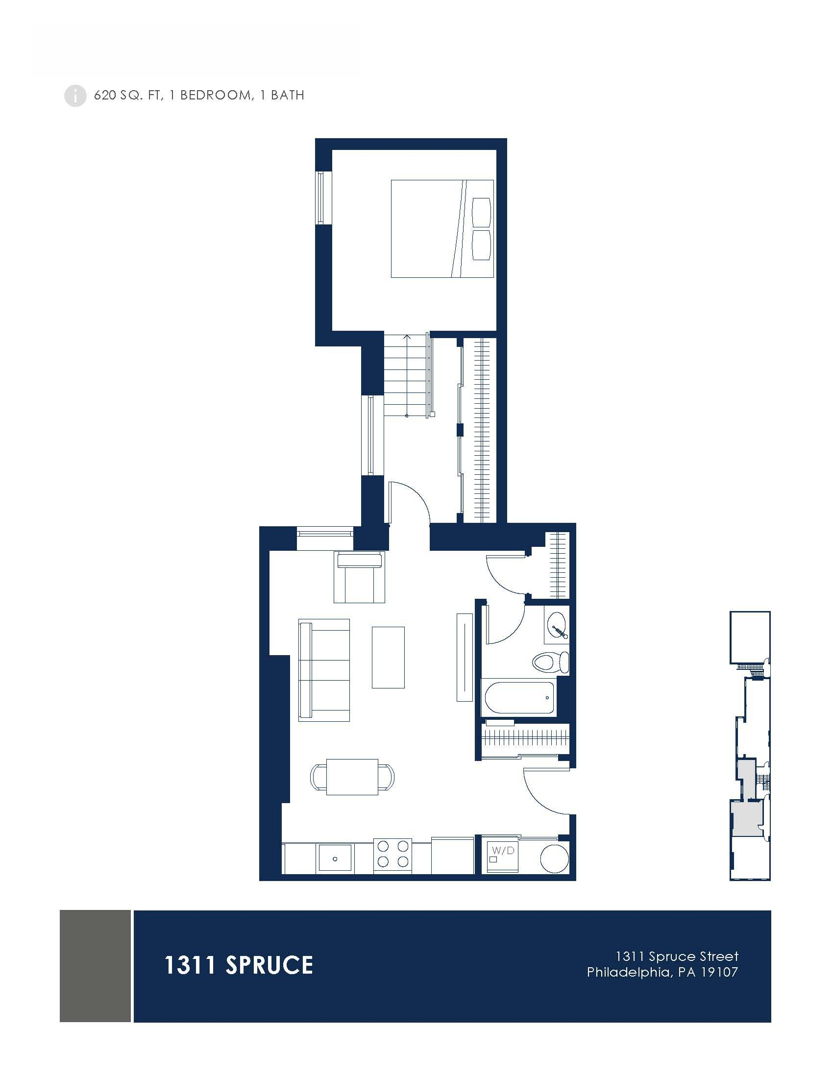 1311 Spruce Lofts Floor Plans