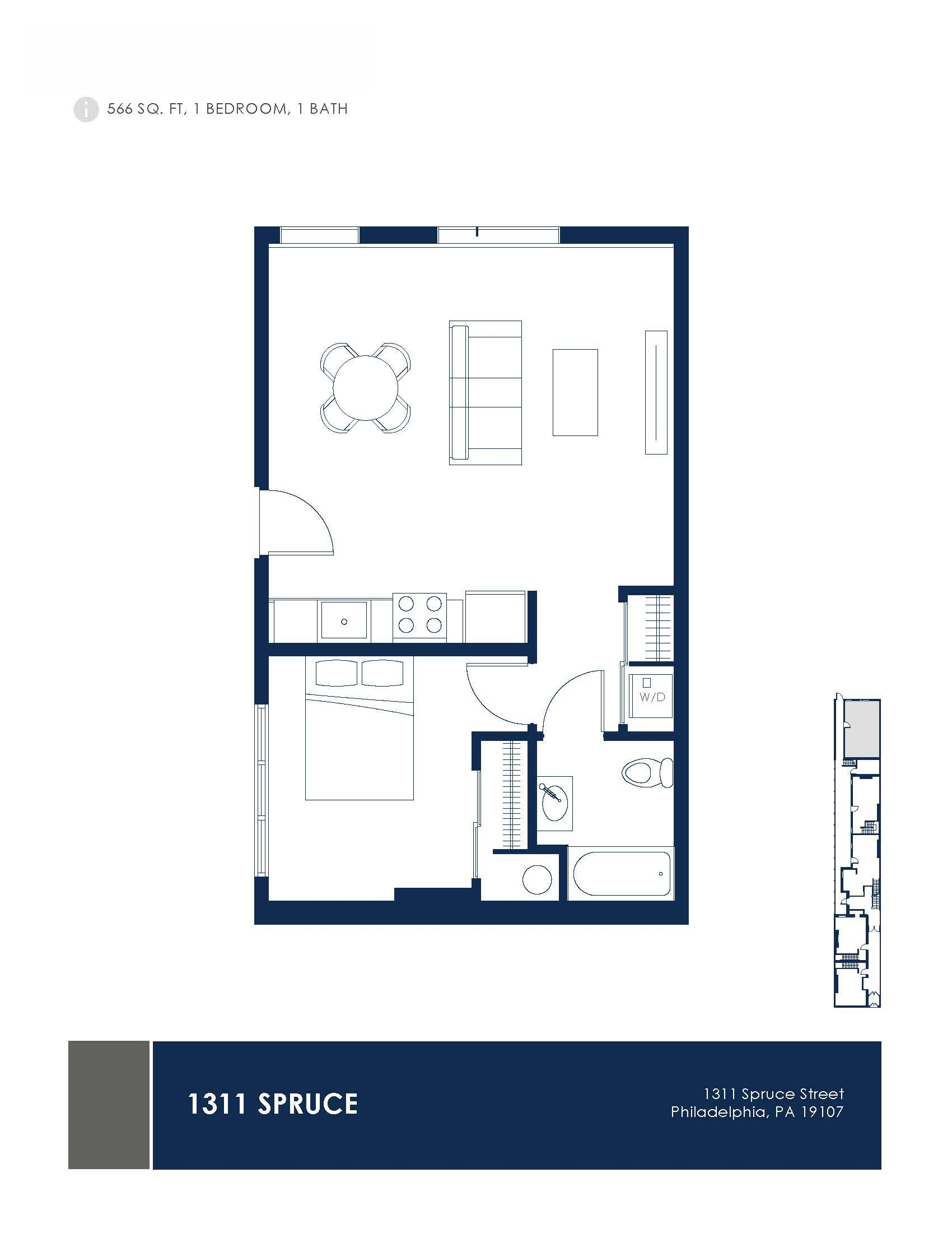 1311 Spruce Lofts Floor Plans