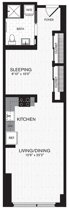 Floor plan image of Apartment 0208
