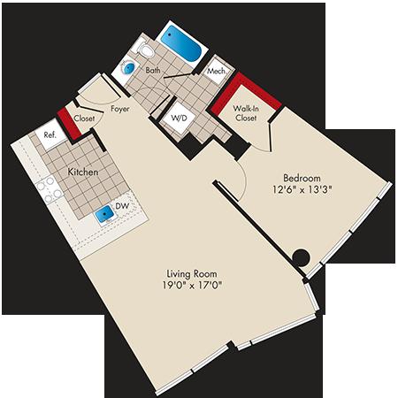 Md baltimore thezenith p0479745 1bed1bathb 2 floorplan