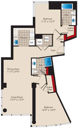 Md baltimore thezenith p0479745 2bedrooma 2 floorplan