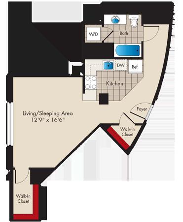 Md baltimore thezenith p0479745 studion 2 floorplan