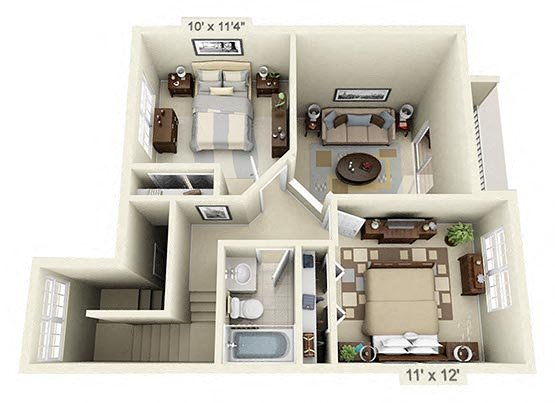 3 Bedroom Townhouse Photo 1