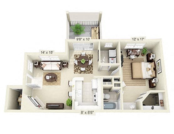 The Sloop Floorplan