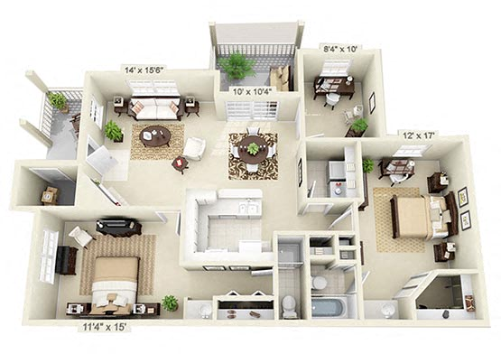 The Brigantine Floorplan