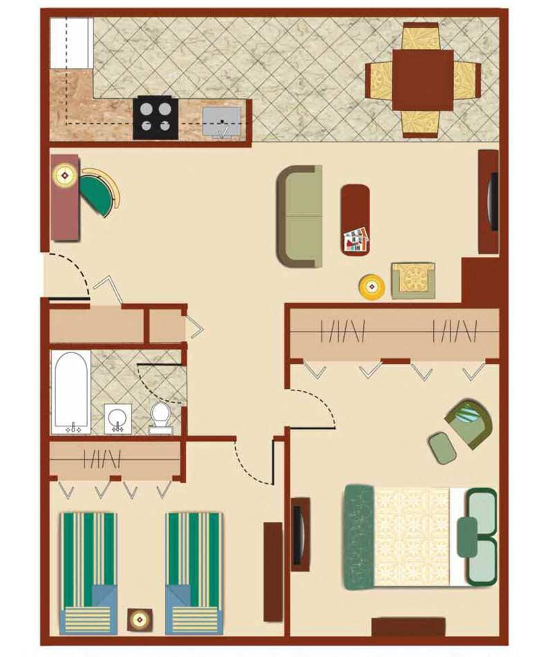 2 Bedroom Deluxe