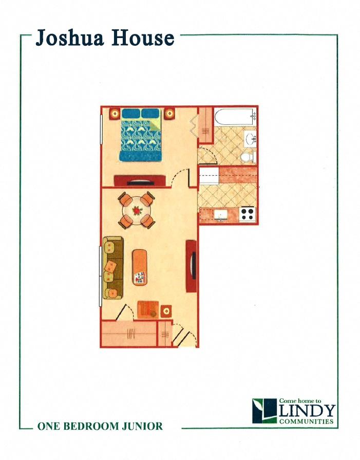 1 Bedroom Jr.