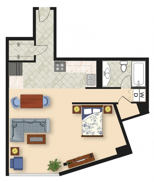 Apartments in Cheltenham | Towers at Wyncote Floor Plans