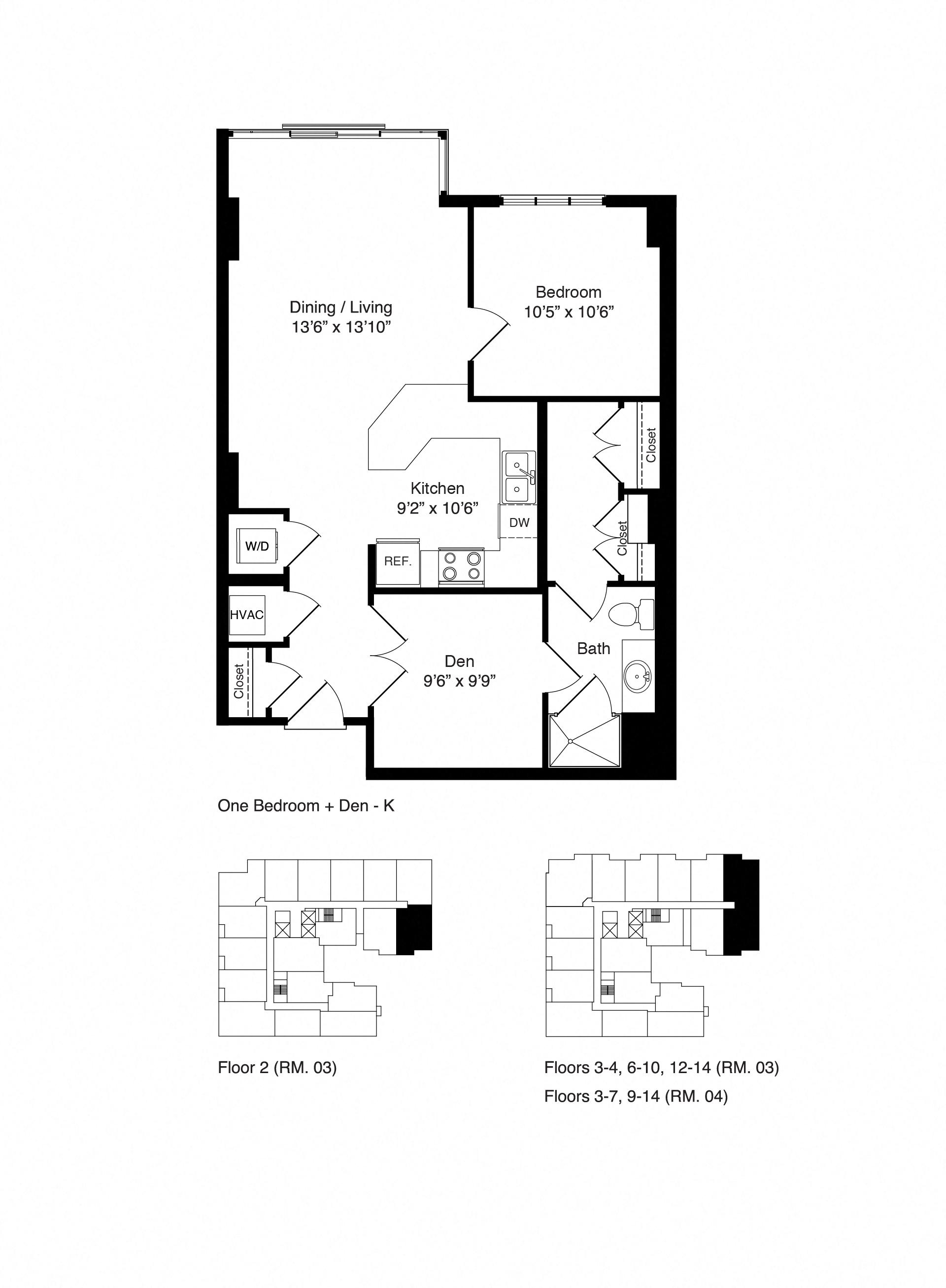 Lyric Floor Plans