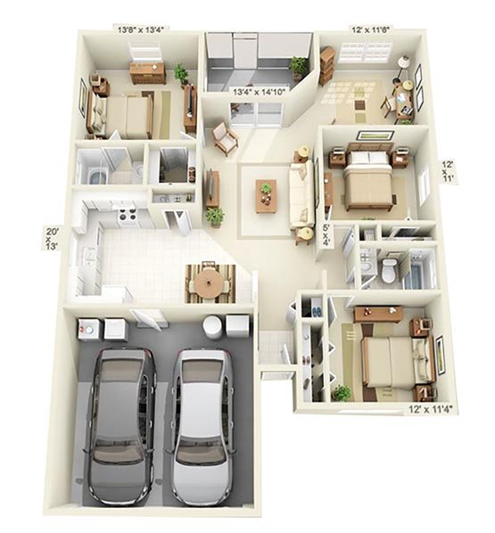 Eagle Point Apartments: Eagle Point Villas Apartments In Gainesville, FL