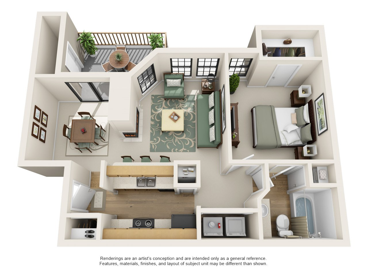Windsong Apartment Homes A3