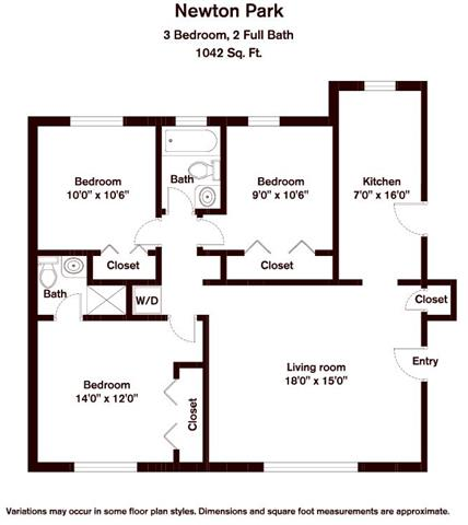 Click to view Floor plan 3 BR image 2