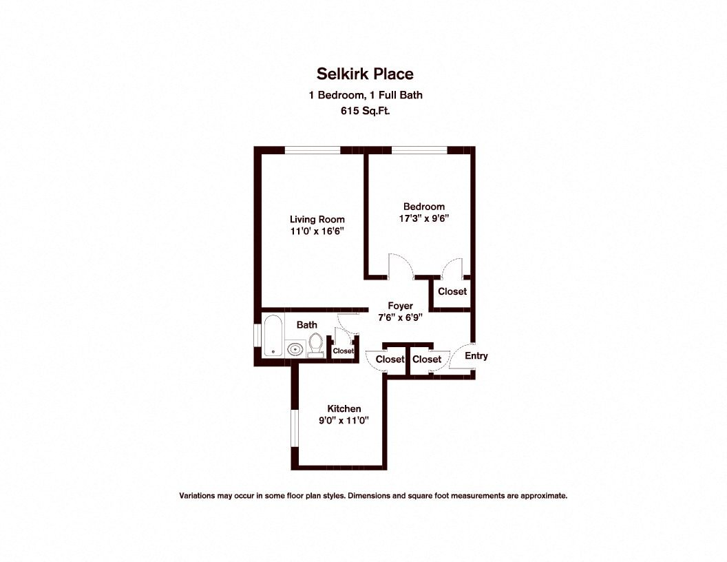 Click to view Floor plan 1 BR image 1