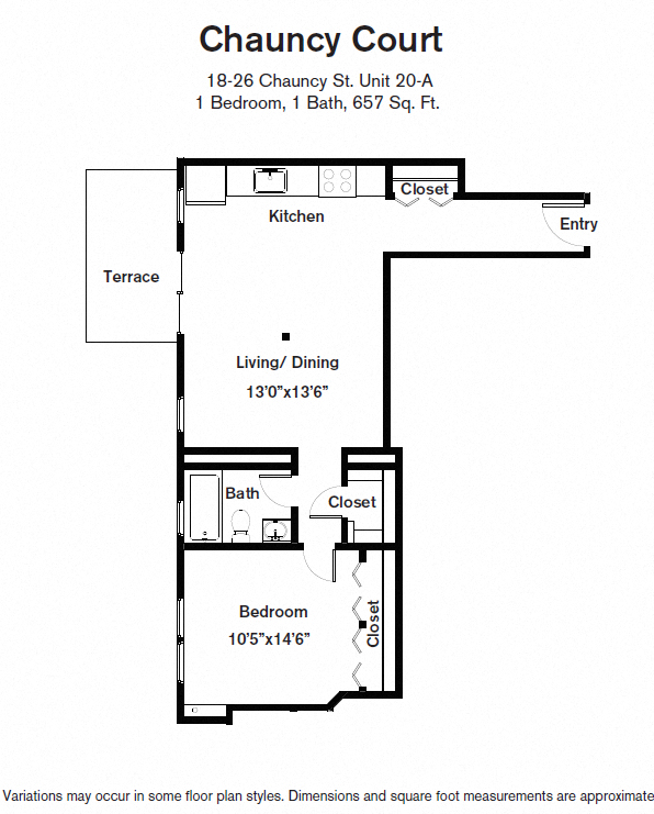 Click to view Floor plan 1 BR image 4