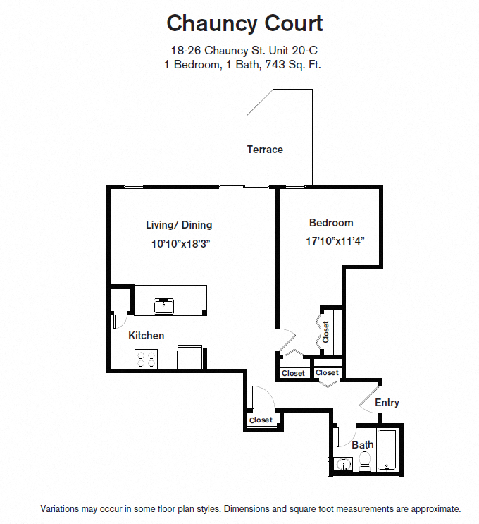 Click to view Floor plan 1 BR image 6