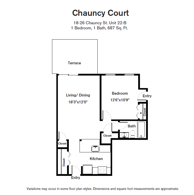 Click to view Floor plan 1 BR image 8