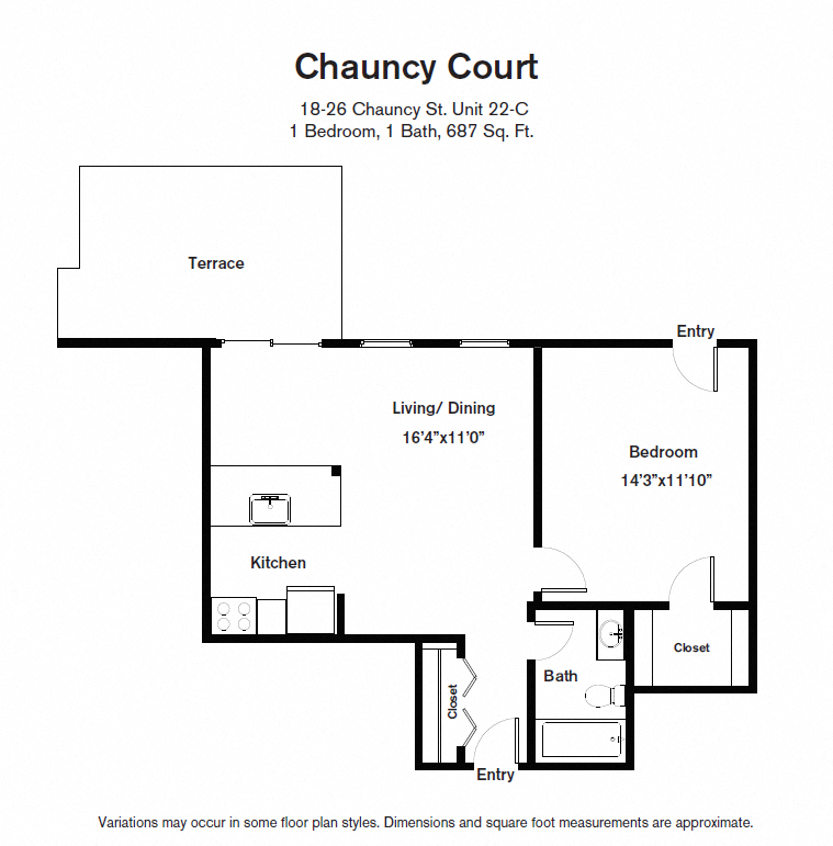 Click to view Floor plan 1 BR image 9