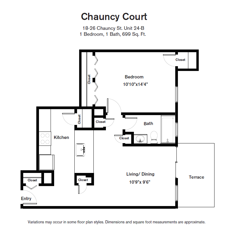 Click to view Floor plan 1 BR image 12