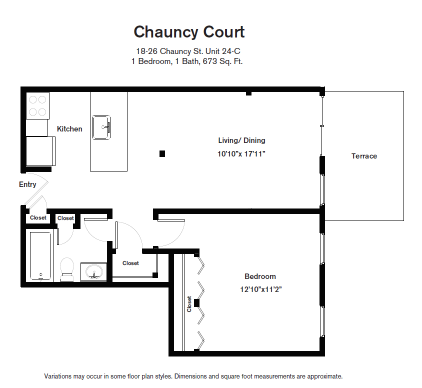 Click to view Floor plan 1 BR image 13