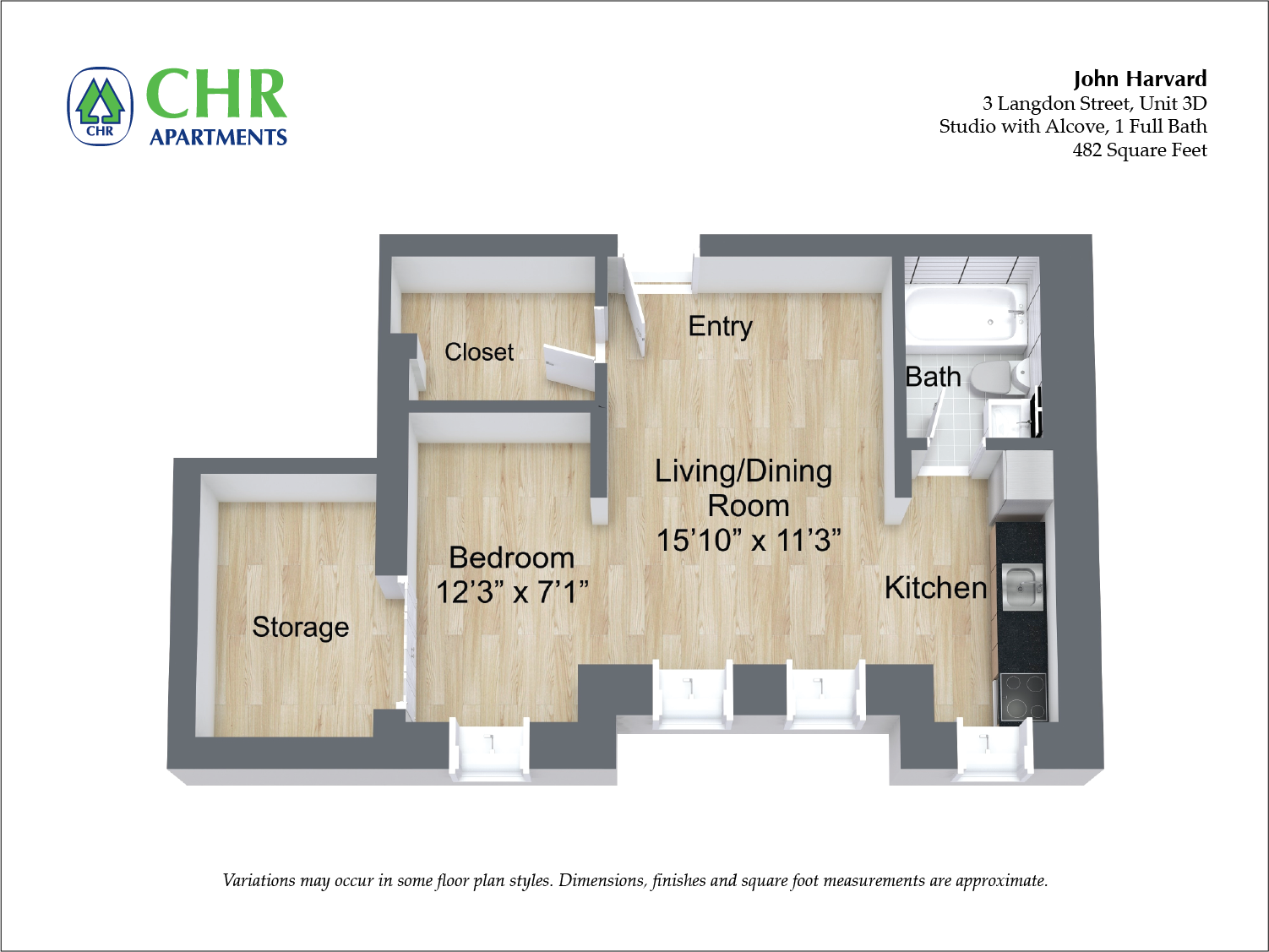 Floor plan Studio image 2