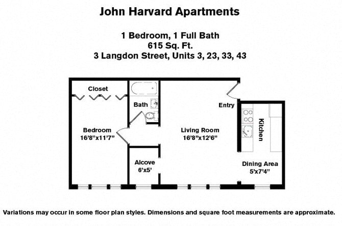 Floor plan 1 Bedroom image 7