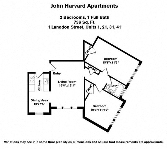 Floor plan 2 Bedroom image 4