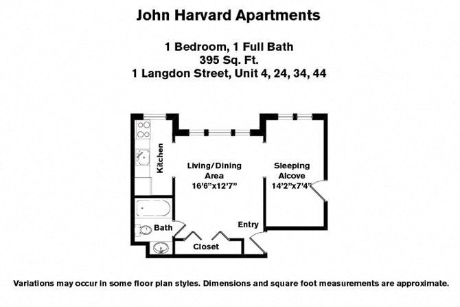Apartments For Rent In Cambridge MA John Harvard Apartments In Extraordinary 1 Bedroom Apartments In Cambridge Ma