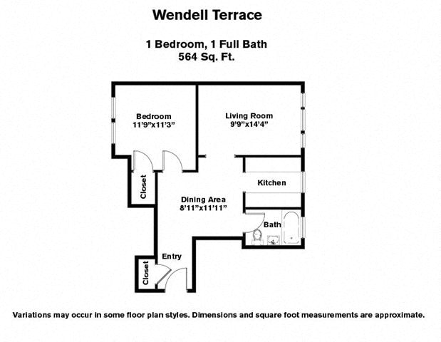 Apartment floor plans pricing wendell terrace apartments in cambridge ma - Terras appartement lay outs ...