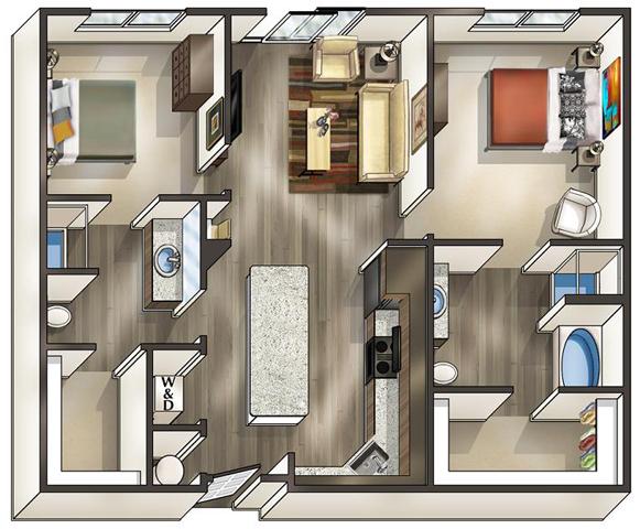 Va alexandria thebeaconofgroveton p0519114 coronado b1 2 floorplan