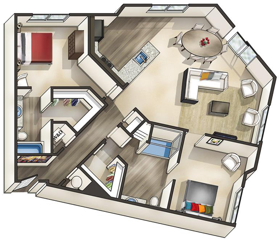 Va alexandria thebeaconofgroveton p0519114 lexington loft b5 loft 2 floorplan