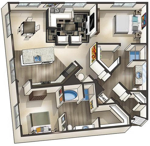 Va alexandria thebeaconofgroveton p0519114 lodestar b6 2 floorplan