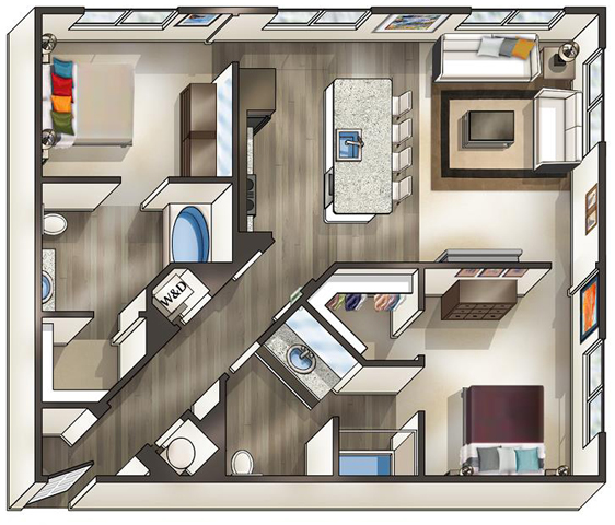Va alexandria thebeaconofgroveton p0519114 navigator b2 2 floorplan