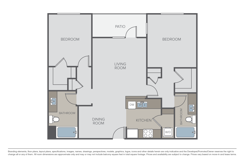Floor Plans Pricing Villa Granada Apartments For Rent