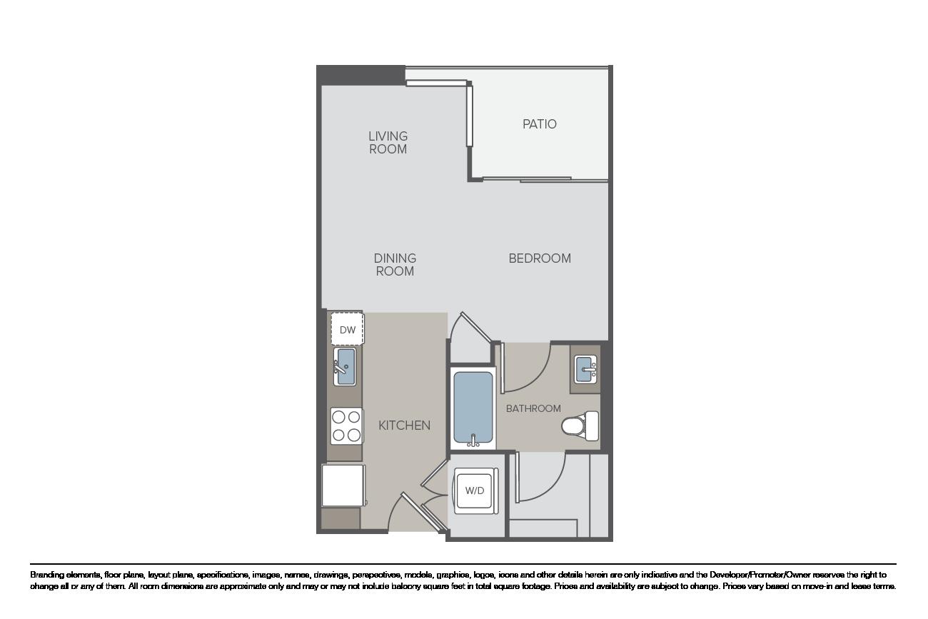 Floor Plans Pricing Avant Apartments For Rent Essex