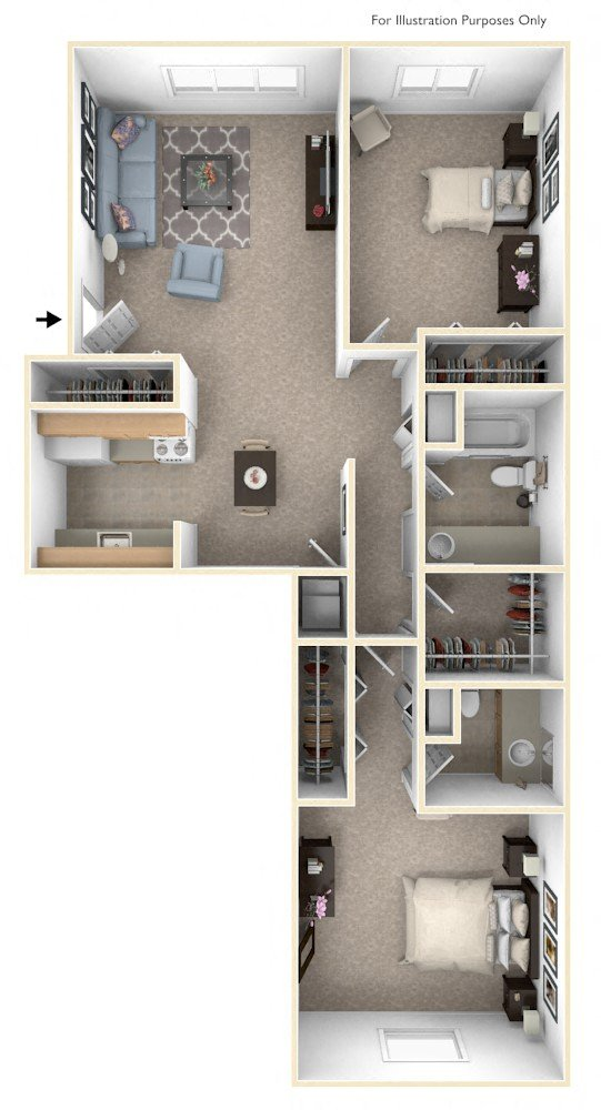 Two Bedroom - Expanded