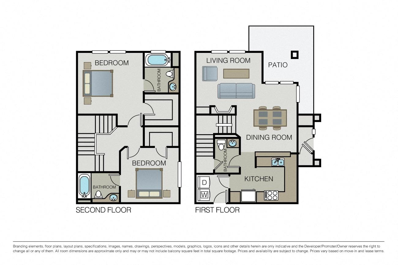 Floor Plans Pricing Bel Air Apartments For Rent Essex
