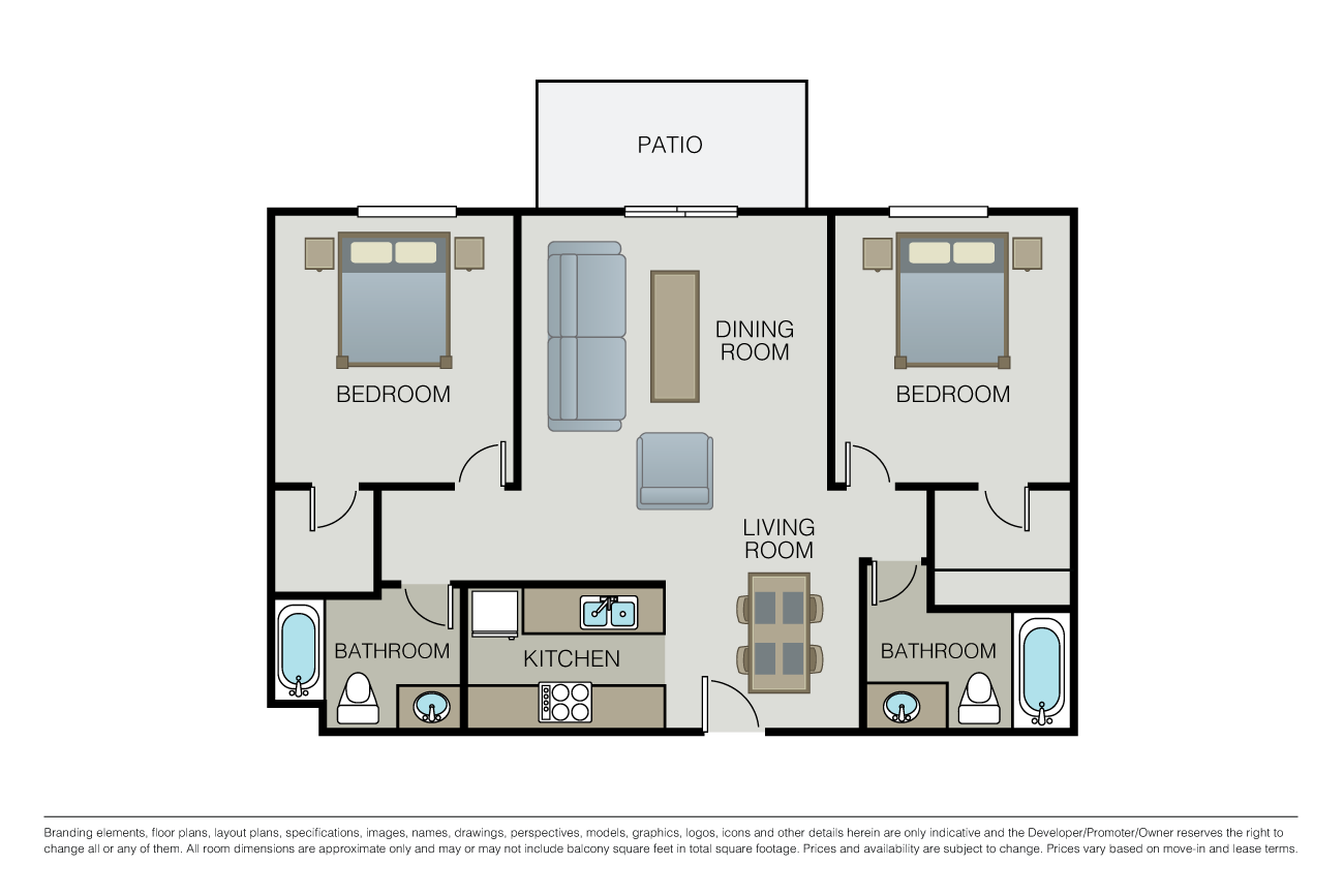 Floor Plans Pricing The Montclaire Apartments For Rent