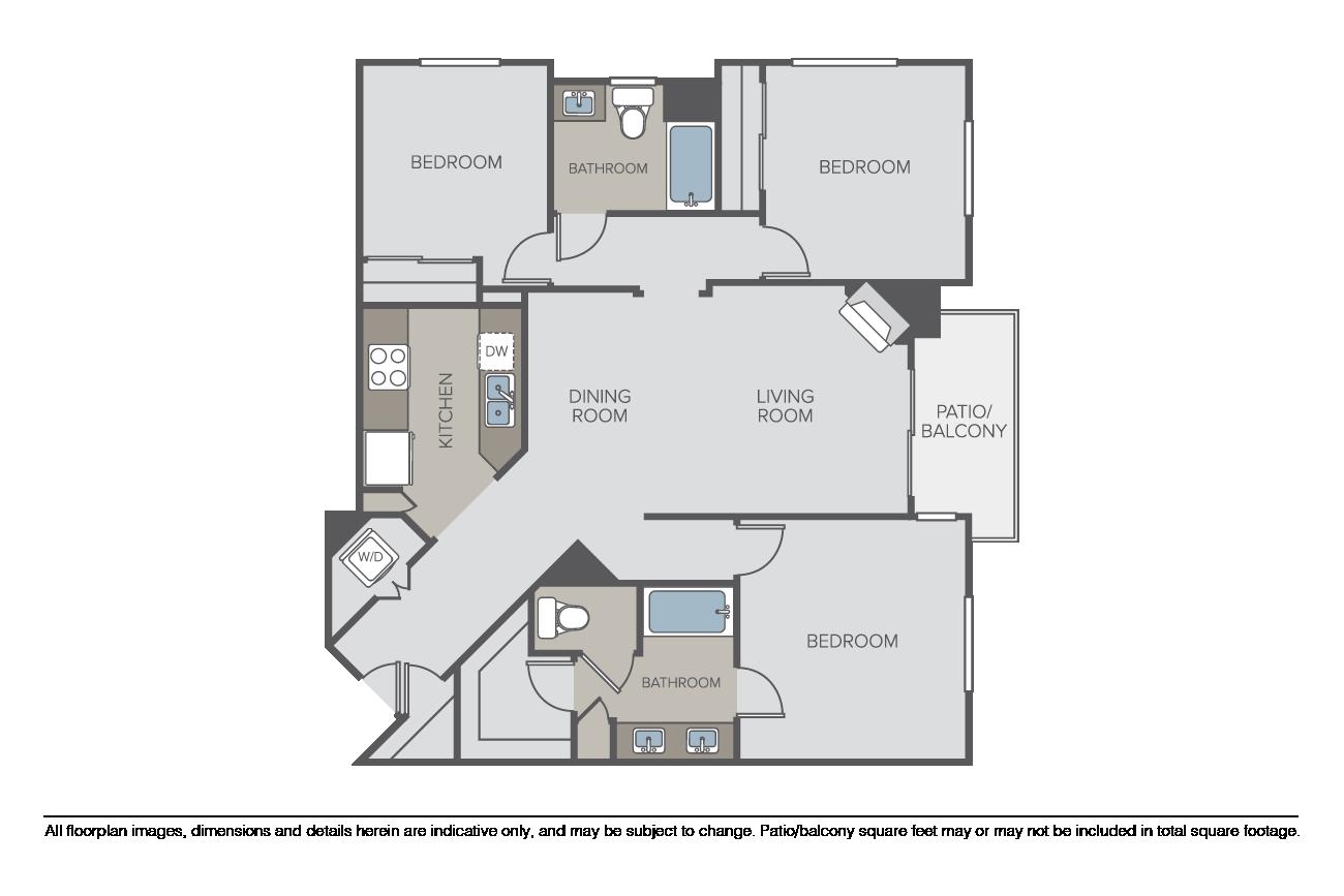Floor Plans Pricing Bellerive Apartments For Rent