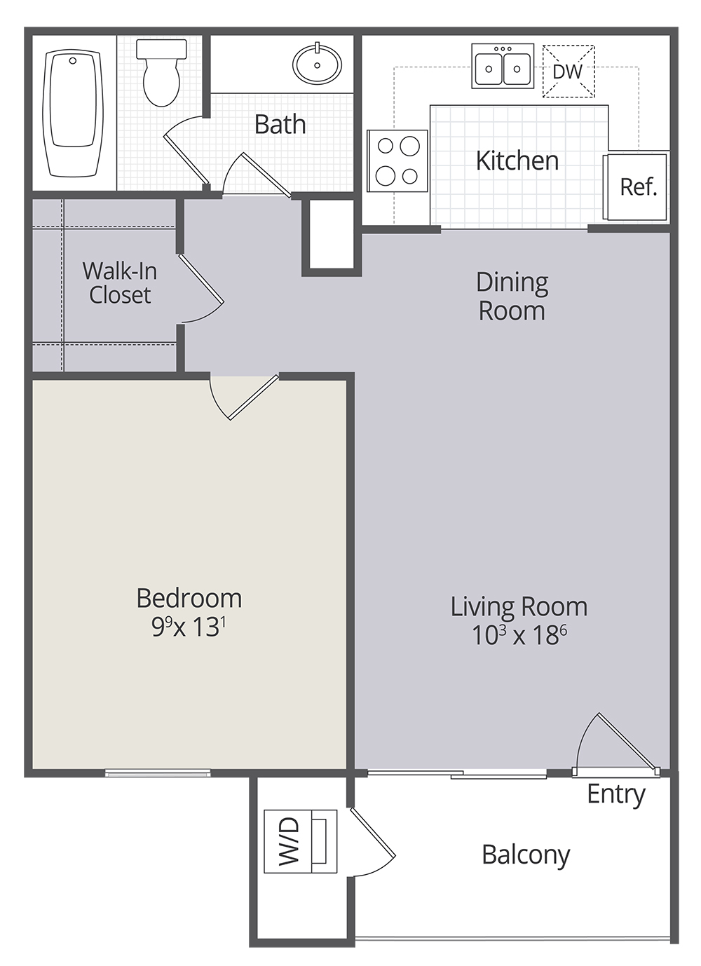 2 & 3 Bedroom Townhomes and 1 & 3 Bedroom Apartments in ...