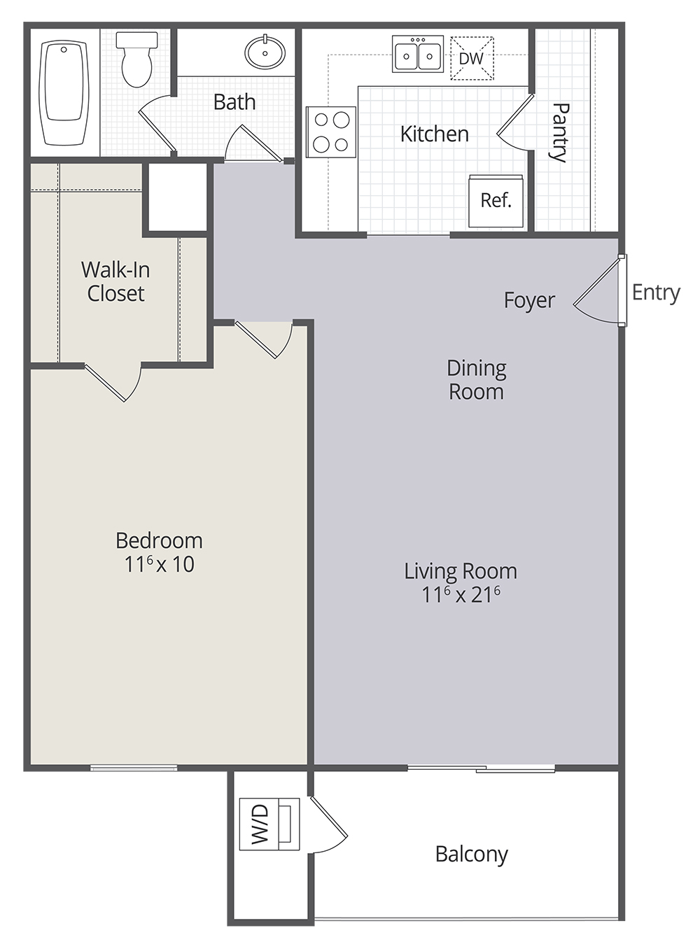 Bedroom Townhomes And Bedroom Apartments In - 1 bedroom apartments gainesville fl